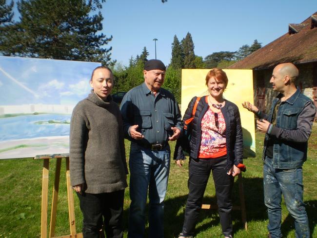 14-avril-2014---Marina-Tsesarskaya,-Michel-Gavaza,-Catherine-Roussel-et-Artem-Milorevich