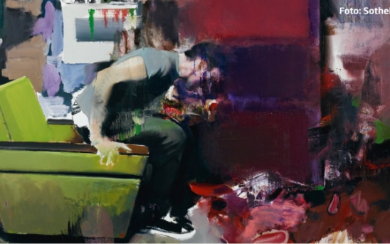 "Adrian Ghenie – Tabloul ""The Fake Rothko"" – 1,77 mil. euro"
