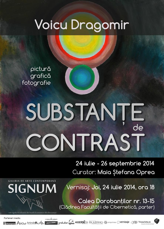 """Voicu Dragomir """"Substanțe de contrast"""" @ Galeria de artă contemporană SIGNUM, București"""