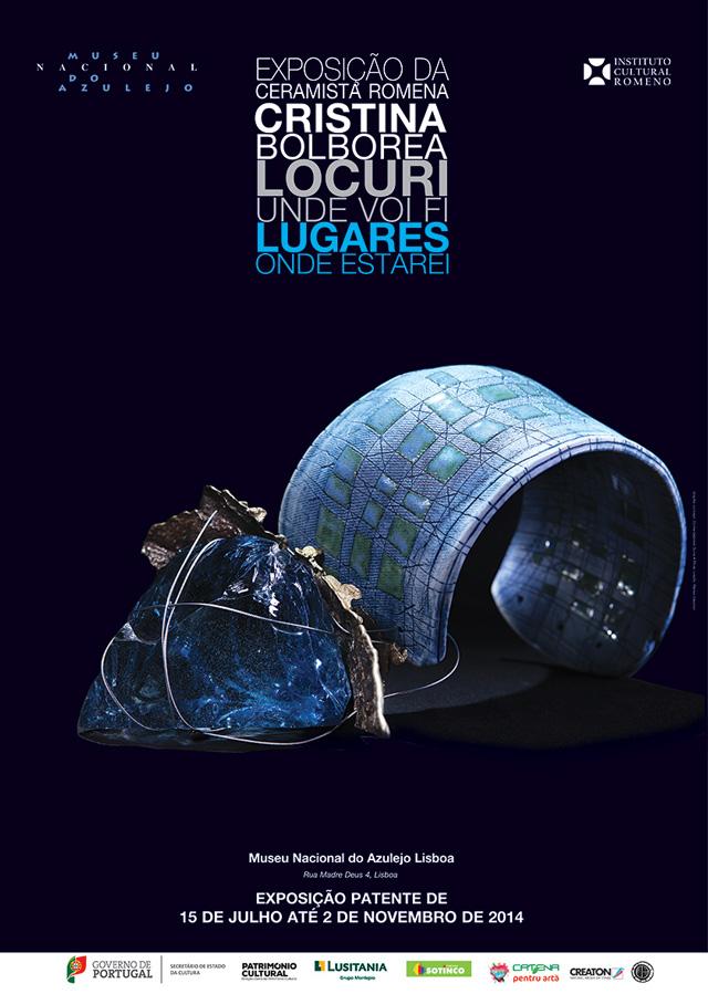 "Cristina Bolborea ""Places to be there"" @ Museu Nacional do Azulejo, Lisabona, Portugalia"