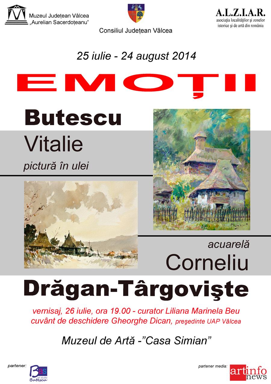 """""""EMOŢII"""" @ Muzeul de Artă """"Casa Simian"""" din Râmnicu Vâlcea"""