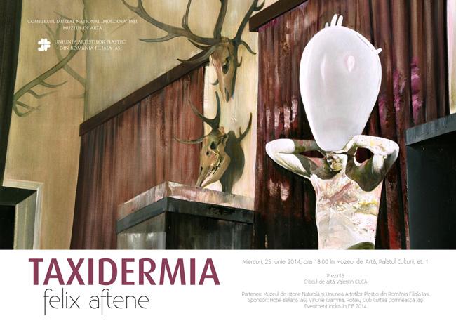 """Felix Aftene """"Taxidermia"""" @ Muzeul de Artă din cadrul Complexului Național Muzeal Moldova"""