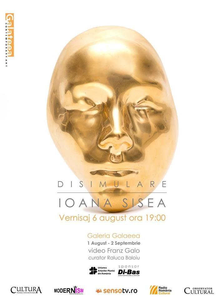 """Ioana Maria Sisea """"Disimulare"""" @ Galeria Galateea, București"""