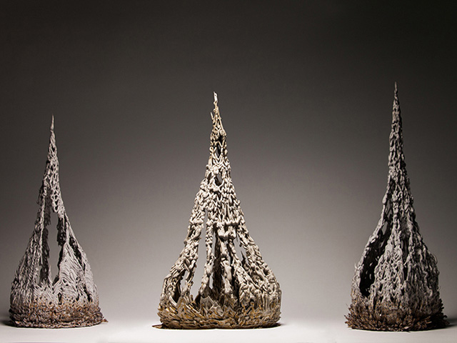 Gravity-Defying Objects Created With Magnetic Clay