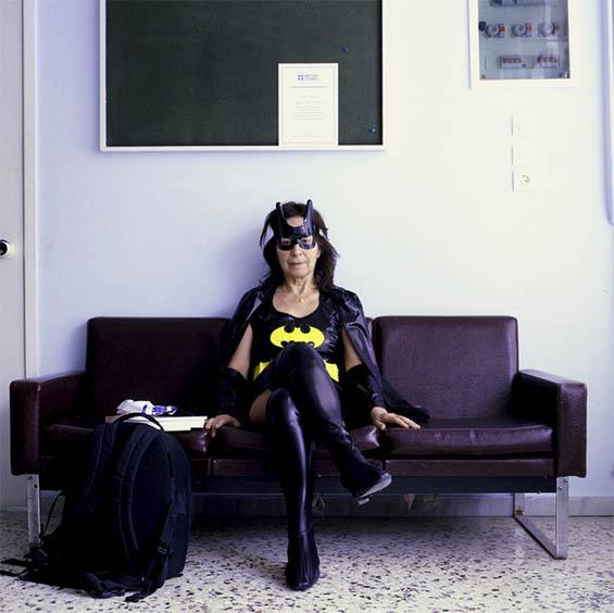 Lina Manousogiannaki's Photos Of Aging Superheroes