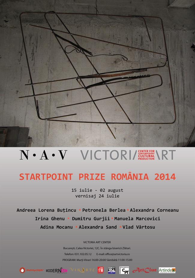 StartPoint Prize România @ Victoria Art Center, București
