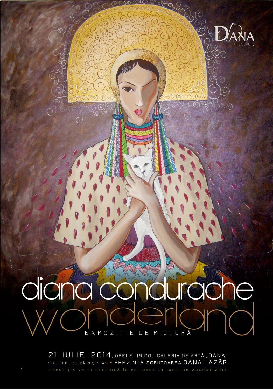 """Diana Condurache """"Wonderland"""" @ Galeria de artă DANA, Iași"""