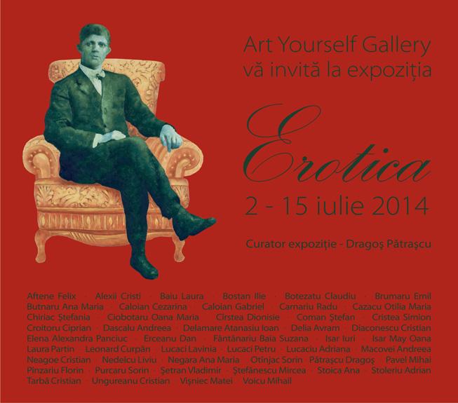 Erotica 2014 la Art Yourself Gallery, București