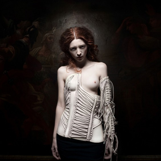 Sylwia Makris' Fashion Photography Exudes Dark, Dreamlike Qualities That Perturb