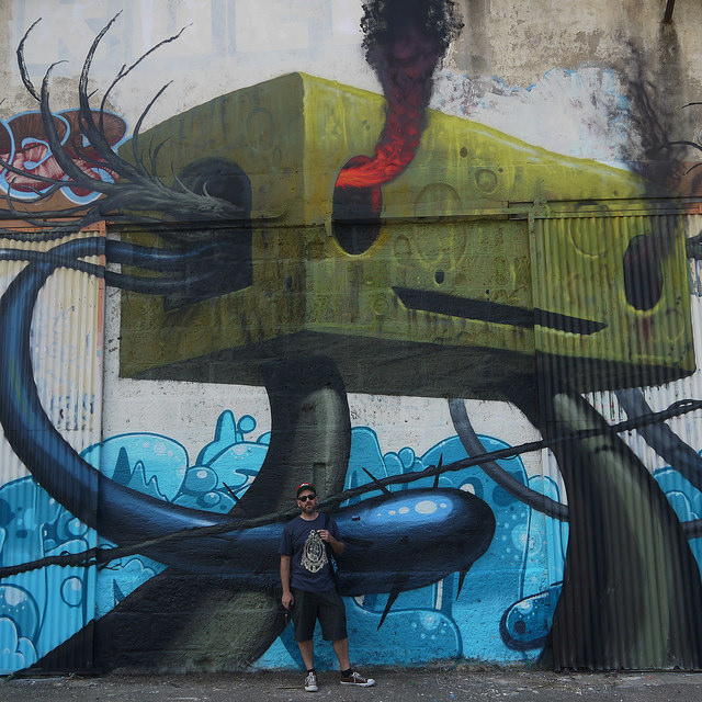 Jeff Soto's New Mural and Public Art Installation in France