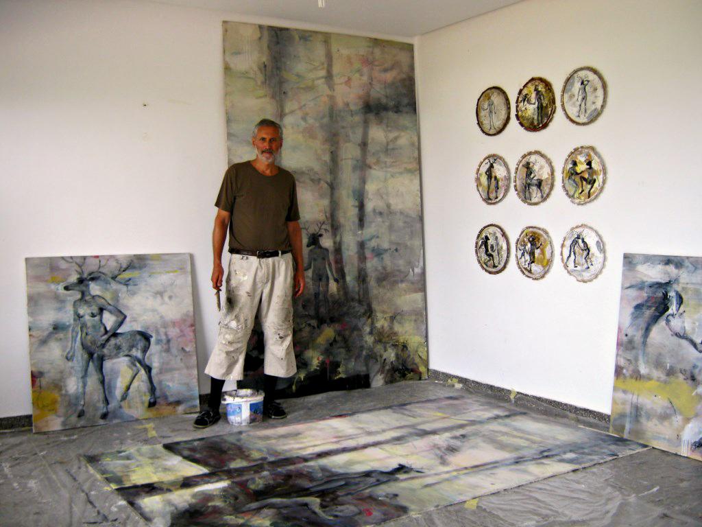 Andor KŐMIVES @  Residence d'Artistes IFITRY, Essaouira, Maroc