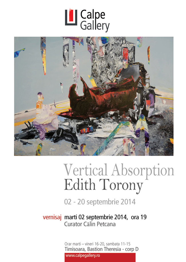 "Edith Torony ""Vertical Absorption"" @ Calpe Gallery, Timișoara"