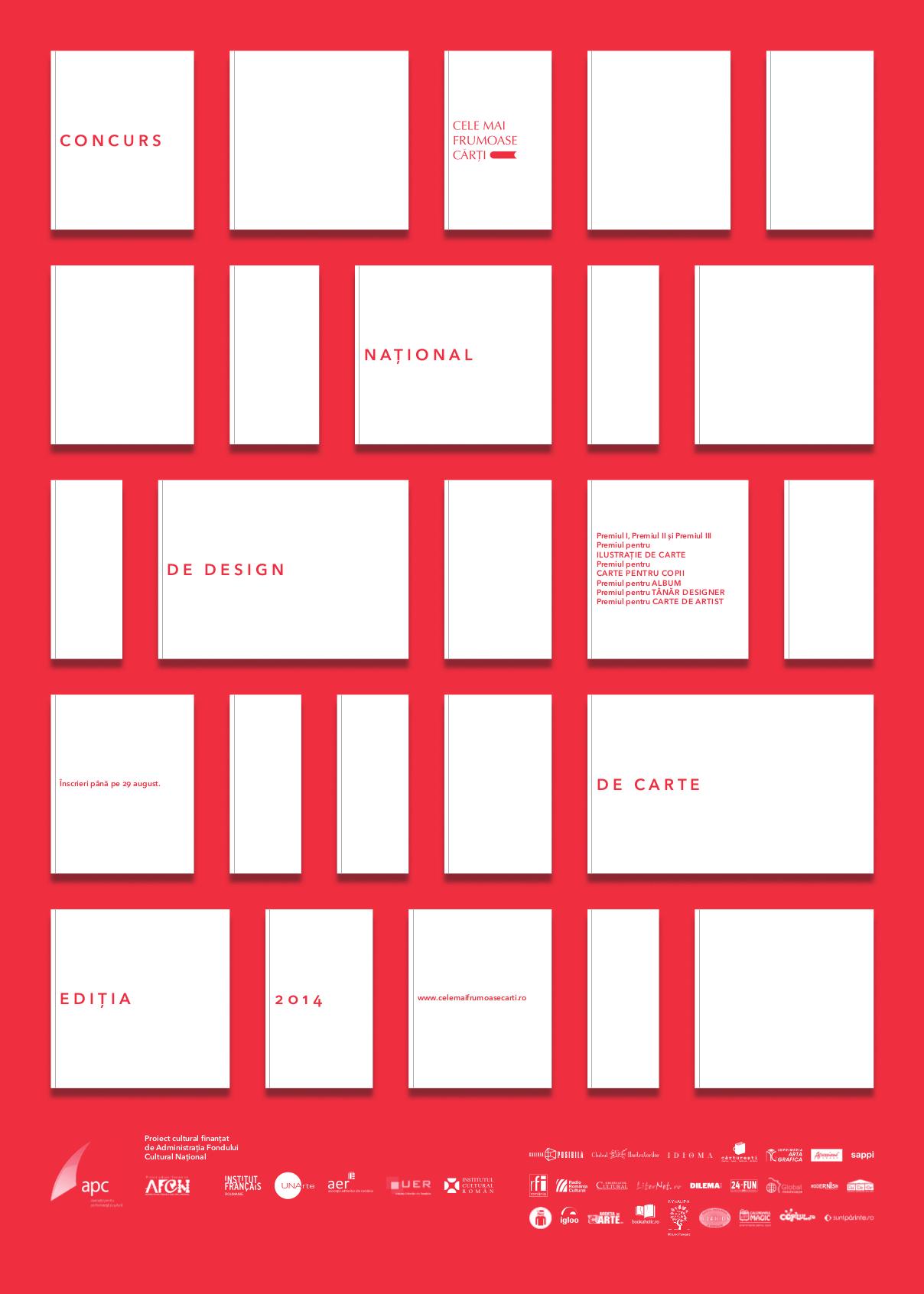 Concursul naţional de design de carte, ediția a III-a