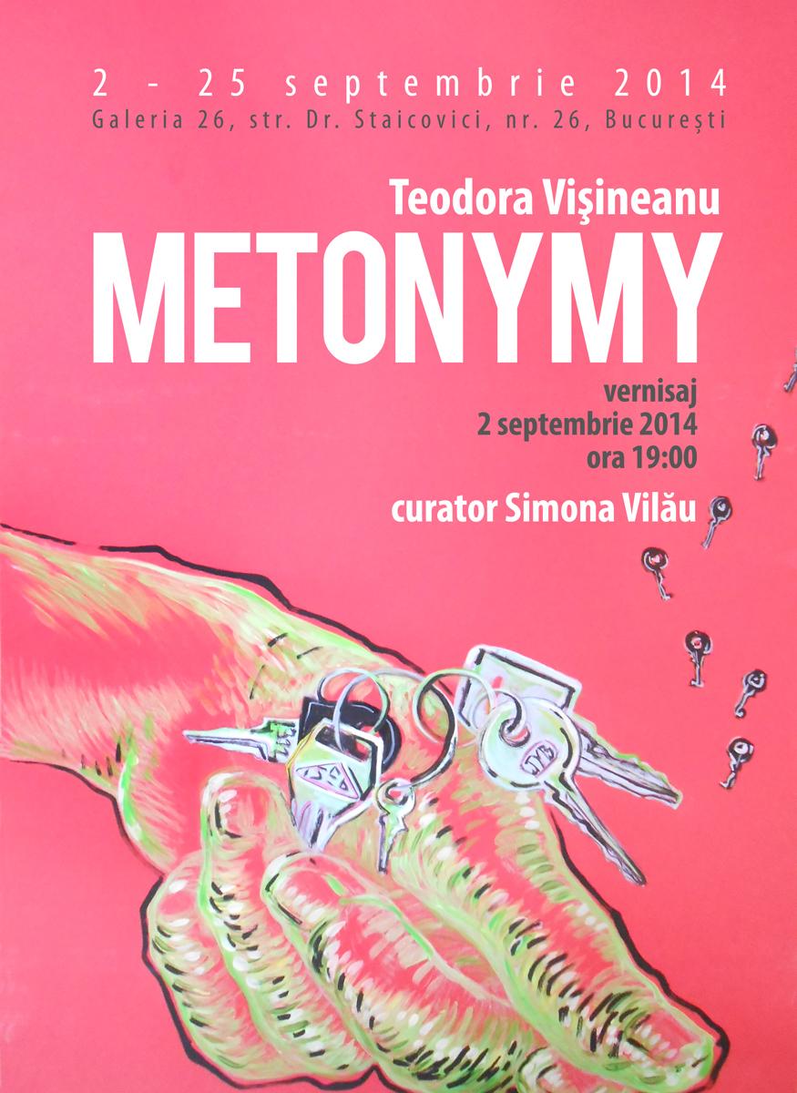 "Teodora Vișineanu ""Metonymy"" @ Galeria 26, București"