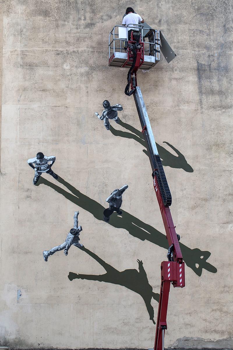 Strok Recent Mural in Italy