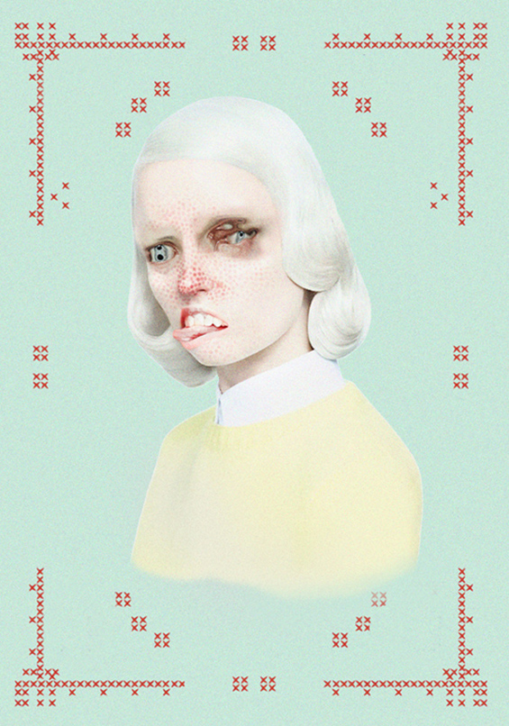 Ethereal Portraits By Merve Morkoç Showcase Horrific Beauty