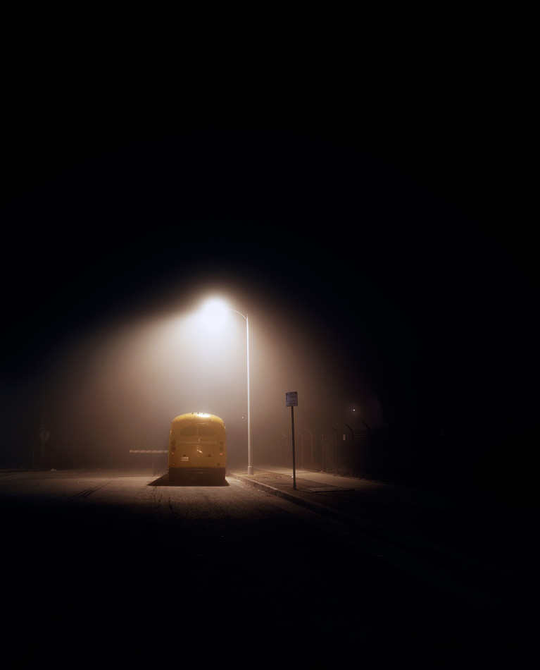 Night Landscapes Series by Amanda Friedman