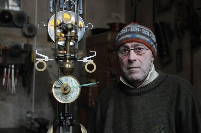 Costel Iacob – vizita in atelier