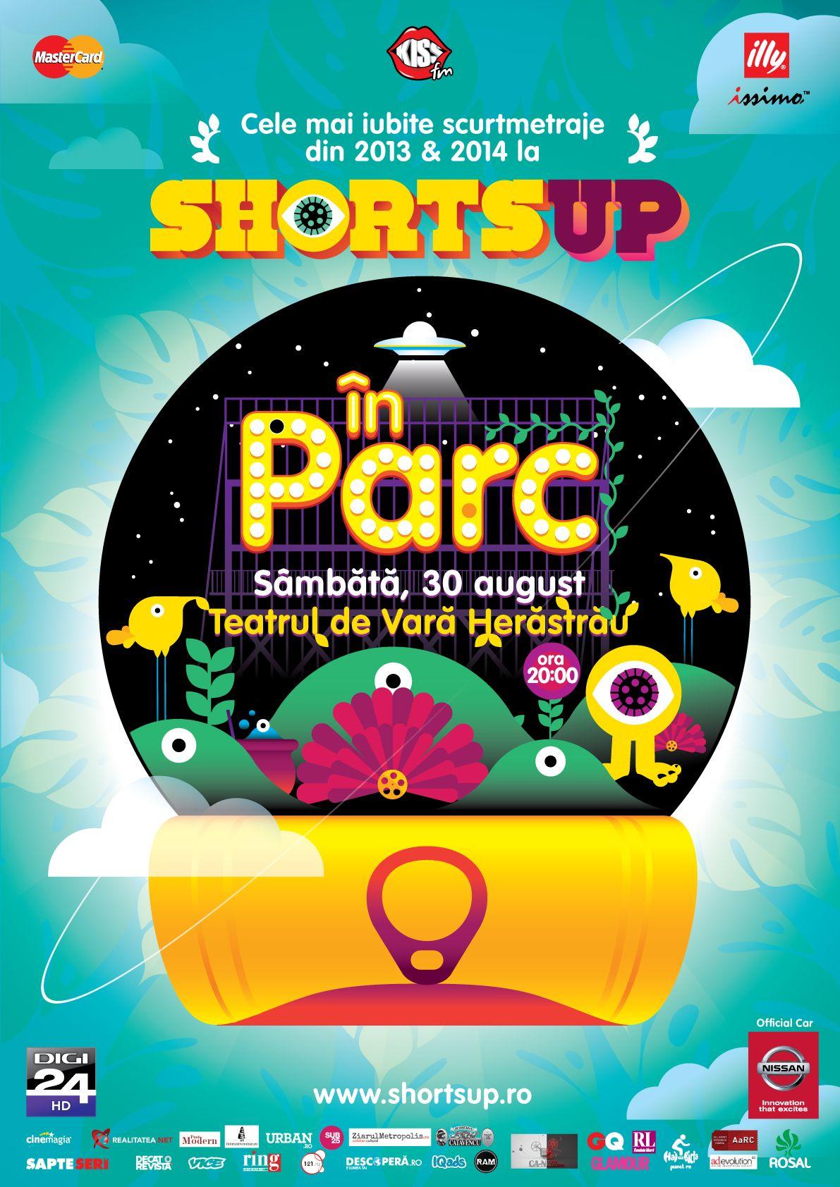 O selecție Best Of cu cele mai populare scurtmetraje din ultimii doi ani @ ShortsUP în Herăstrău