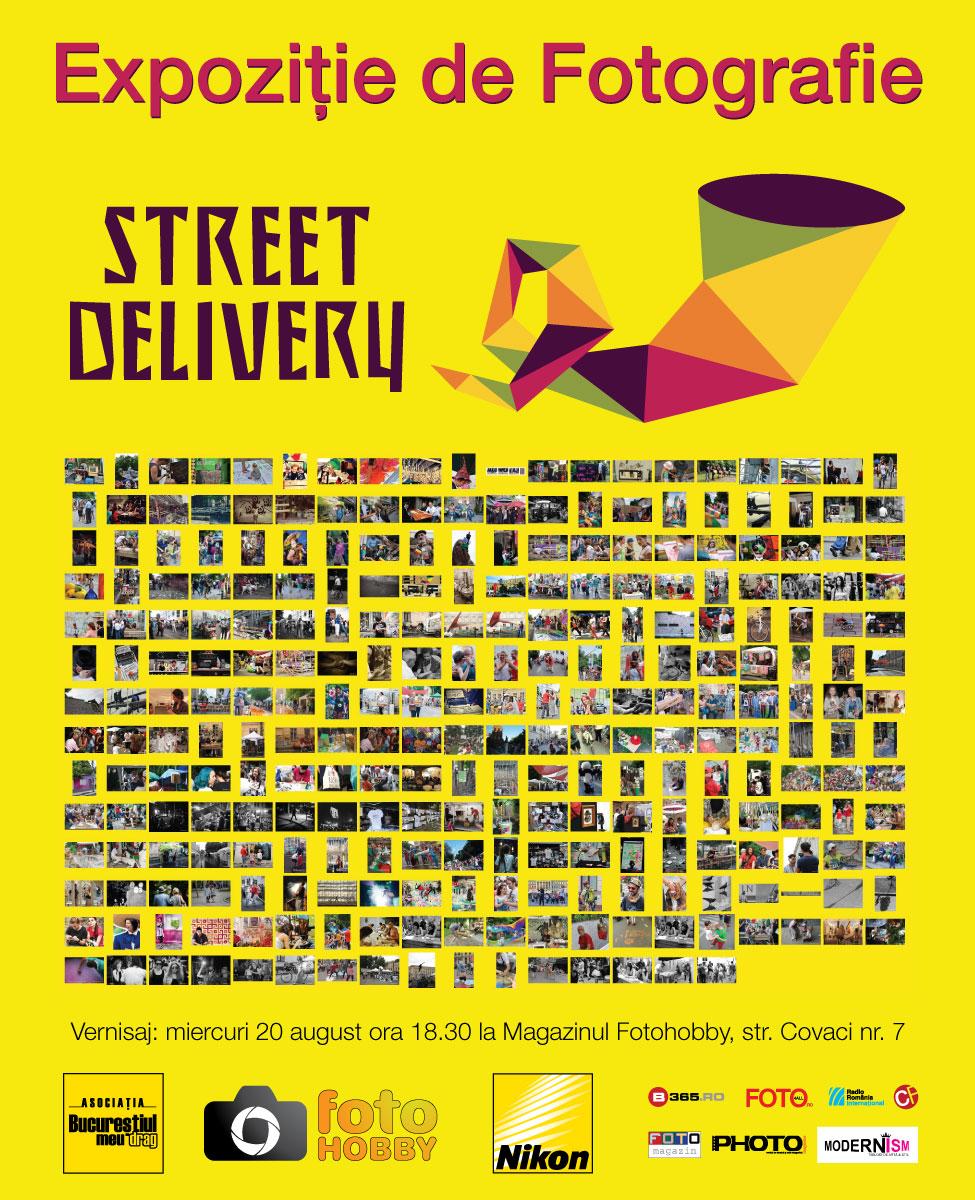 Expoziție foto Street delivery 2014