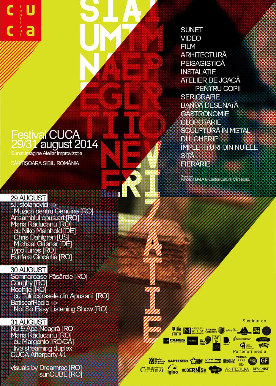 FESTIVAL CUCA 2014, Ediția #1