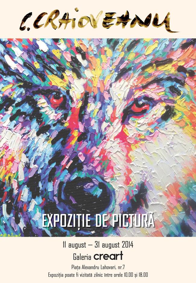 Costin Craioveanu expune la creart – Centrul de Creație, Artă și Tradiție al Municipiului București