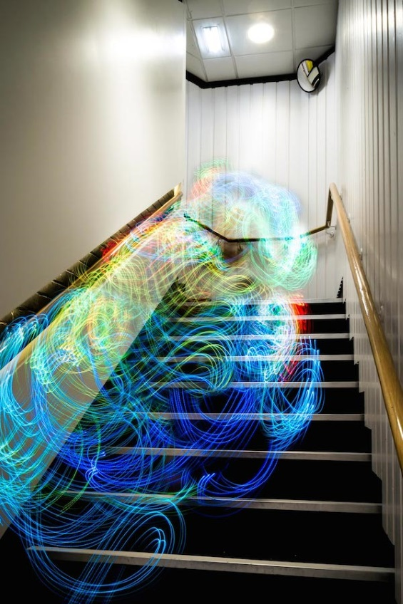 Luis Hernan's Photographs Reveal Colorful WiFi Signal Visualizations