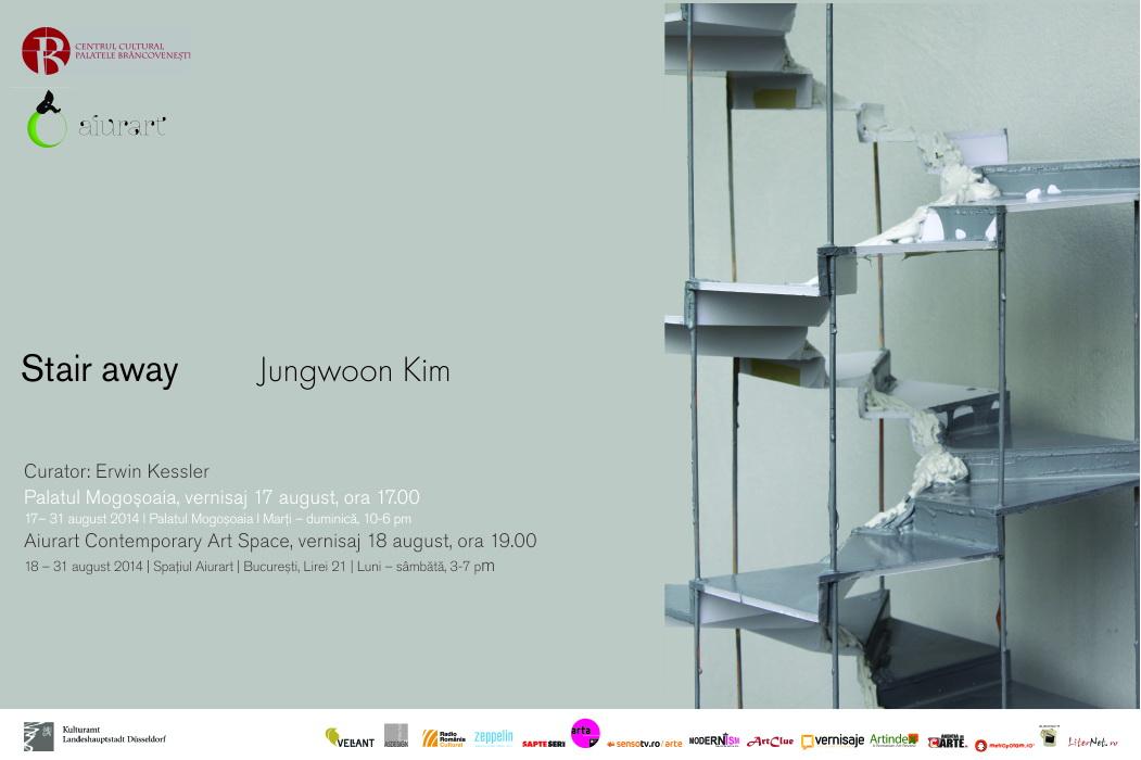 "Jungwoon Kim ""Stair away"" @ Aiurart & Palatul Mogoşoaia"