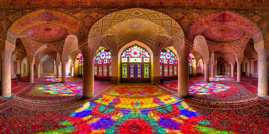 Interiors Of Iran's Mosques Captured In Rare Photographs By Mohammad Domiri