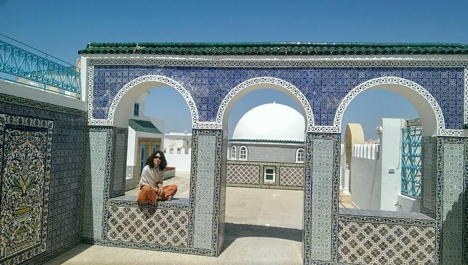 Maia Ştefana Oprea @ Festivalul Internaţional de Arte Plastice din Monastir, Tunisia