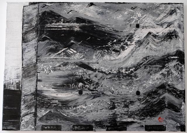 peisaj imaginar - pictura - lucian muntean 03