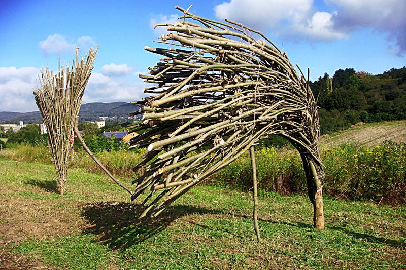 """Emil Dobriban la """"Bienala internaţională de artă contemporană în aer liber – Moved Wind"""", Kassel, Germania"""