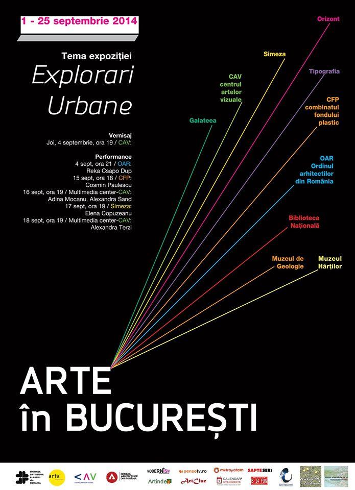 Arte in Bucuresti editia a V-a