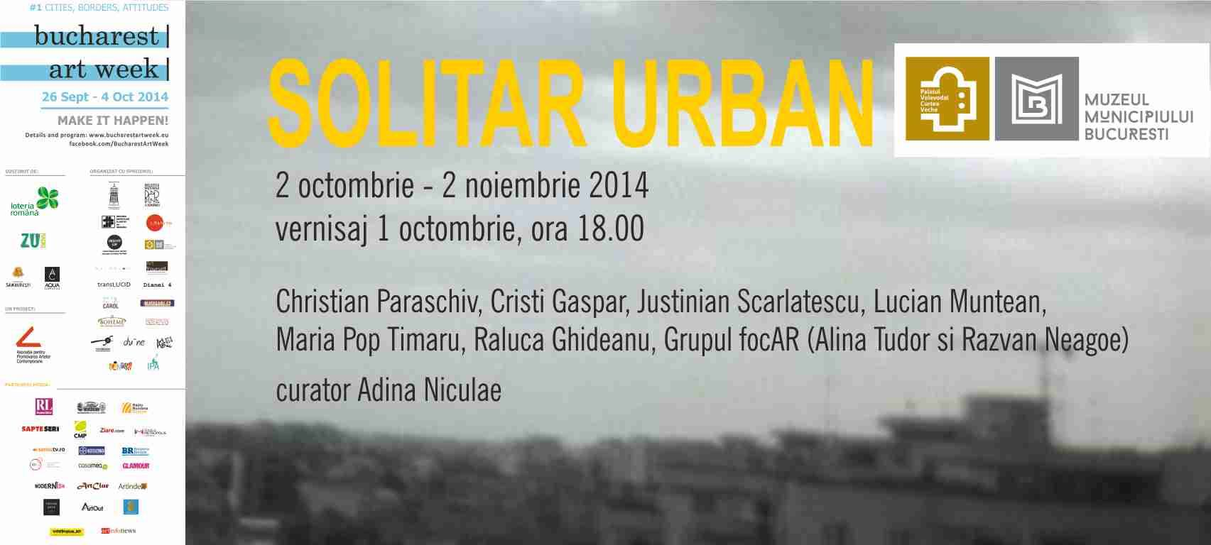"""Solitar Urban"" @ Muzeul Curtea Veche – Palatul Voievodal"