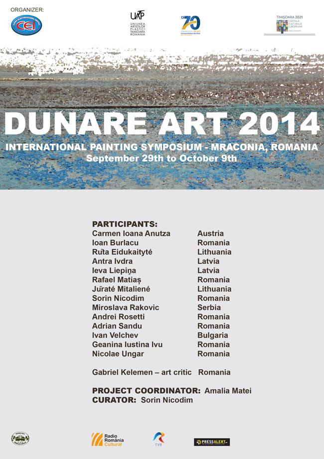 """Simpozionul Internaţional de Pictură """"Dunăre ART"""", ediţia I"""