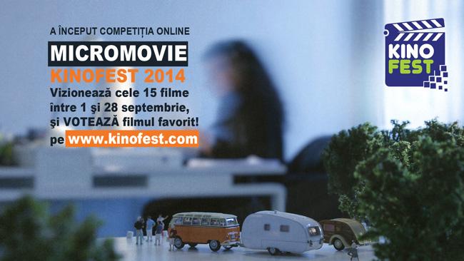 A început competiția Micromovie Kinofest 2014