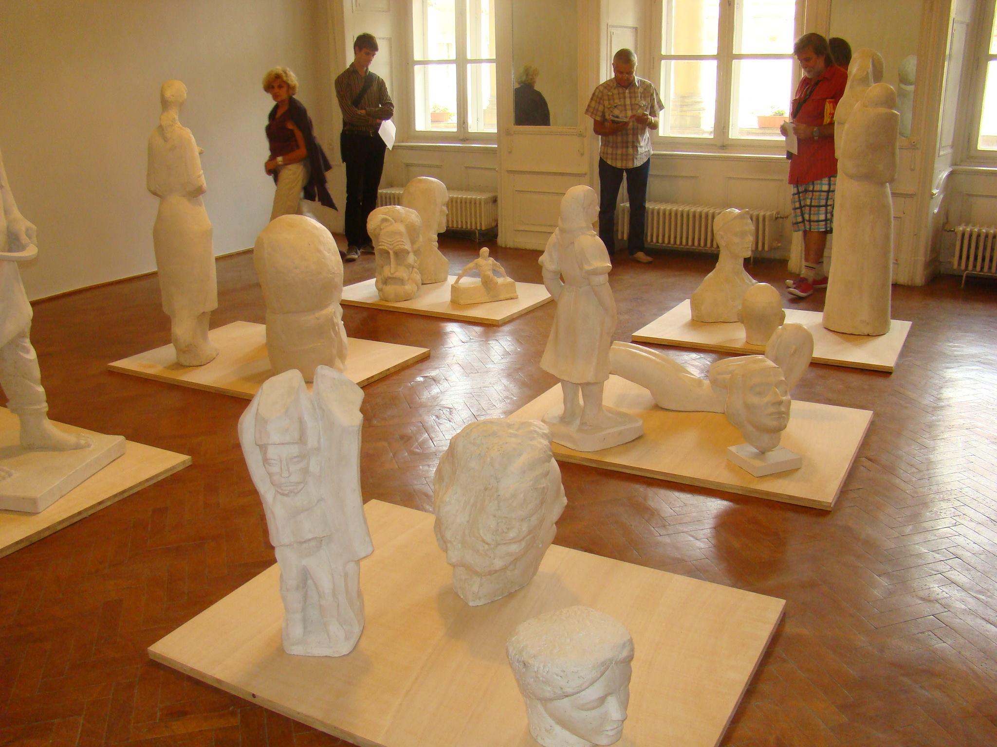 """Ciprian Mureșan """"Funcţionarul invizibil"""" @ Muzeul de Artă Cluj-Napoca"""