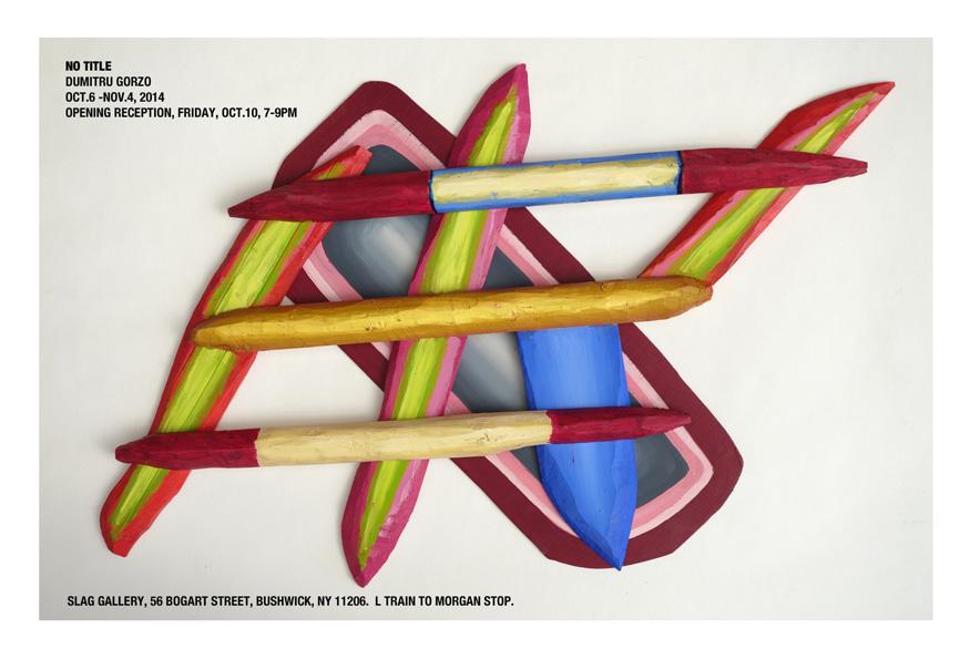"Dumitru Gorzo ""No Title"" @ Slag Gallery, NY"