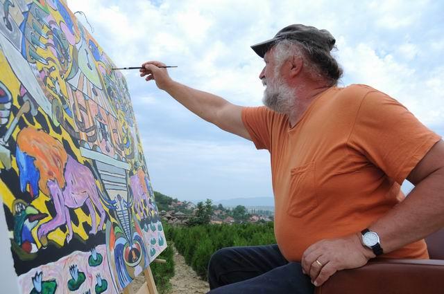 "Borgó  – ""Arta în grădină"", Jibou 2014"