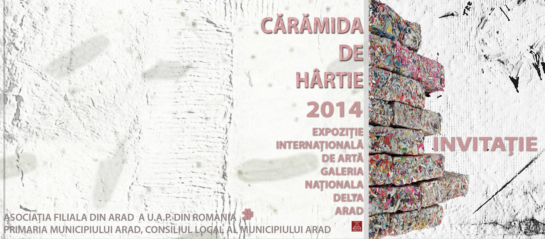 Expoziţia Internaţională Cărămida de Hârtie – Arad 25 Octombrie 2014
