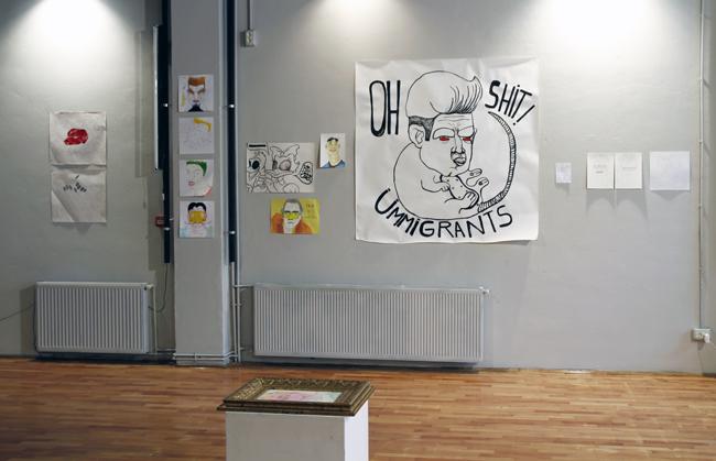 "Lea Rasovszky ""Antihistamine"" @ Atelier 030202, București"