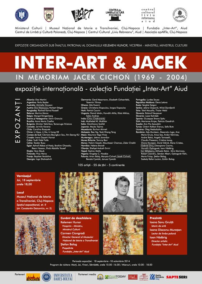 """""""Inter-Art"""" Aiud la Muzeul Naţional de Istorie a Transilvaniei, Cluj-Napoca"""