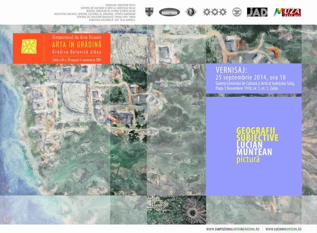 Geografii subiective – Lucian Muntean @ Zalau