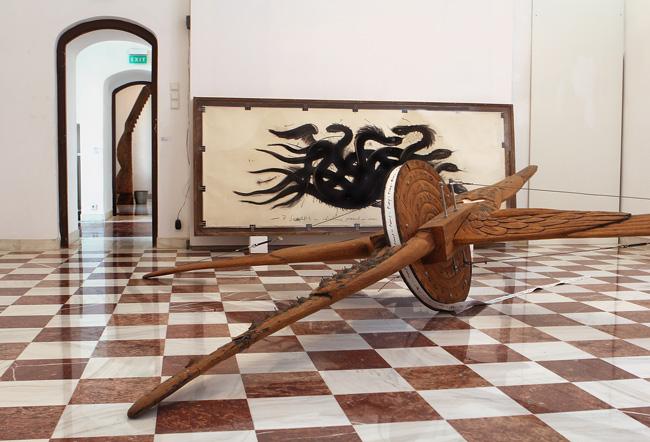 """Retrospectiva Marian Zidaru """"Îngeri, Tronuri, Voievozi"""" @ Palatul Mogoșoaia"""