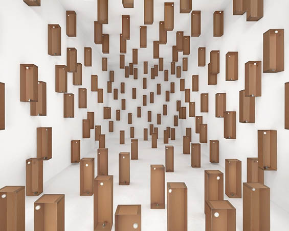 Incredible Moving Installations Created Out Of Cardboard