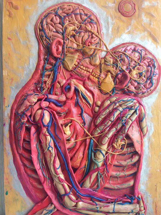 Svetlana Karel Recreates Famous Paintings In Plasticine To Battle Depression