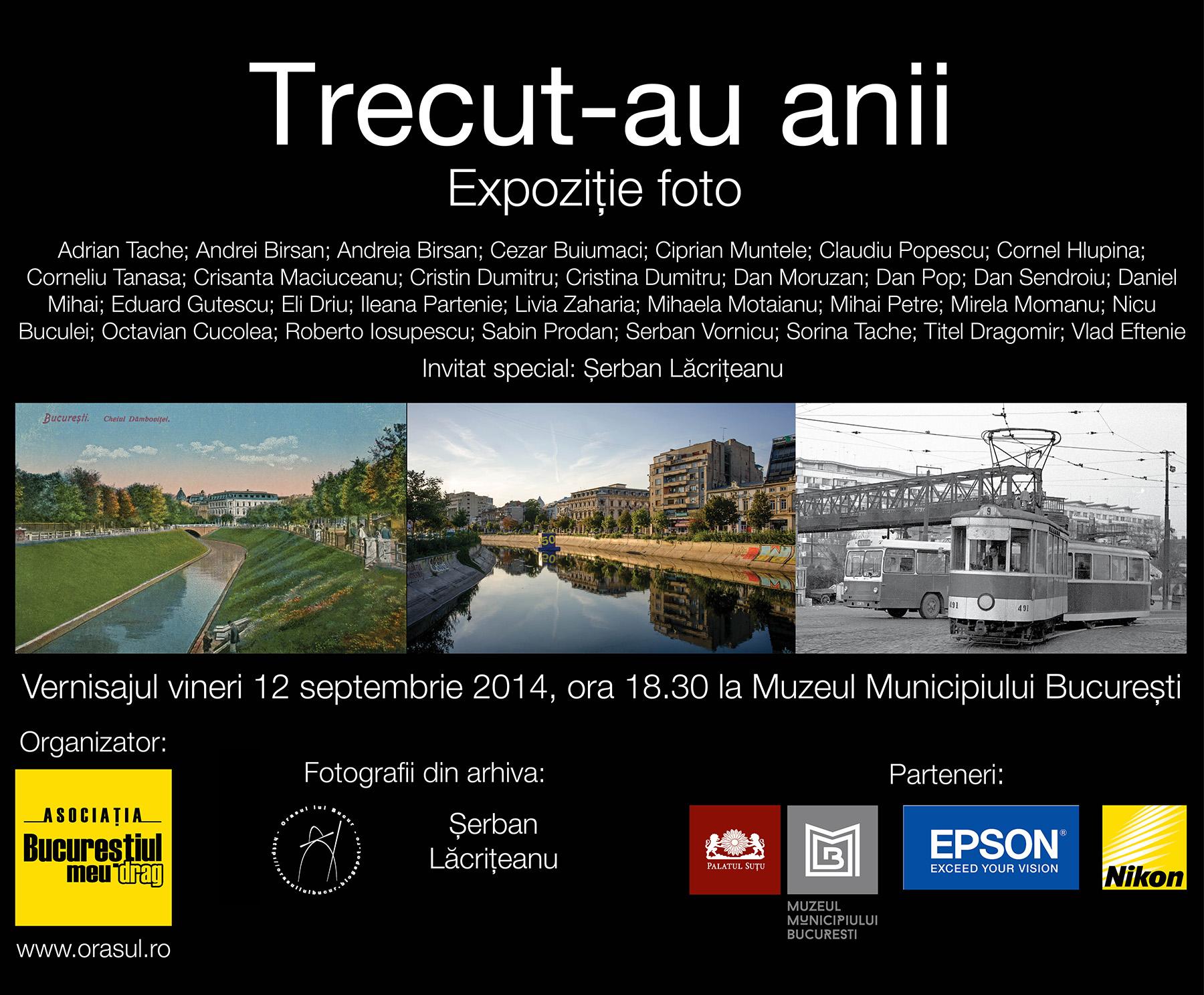 """""""Trecut-au anii…"""" @  Muzeului """"Municipiului București"""""""