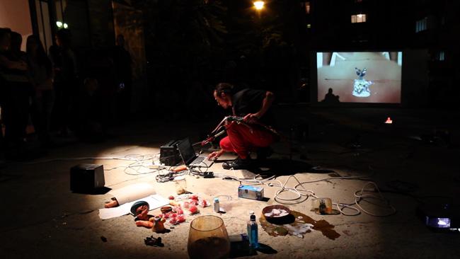 """Theo Pelmuș """"Trinity: Pinocchio, Pieta and the Self"""" @ Atelier 030202, București"""