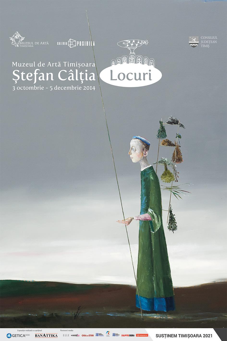 """Expoziție Ștefan Câlția """"Locuri"""" @ Muzeul de Artă Timișoara"""