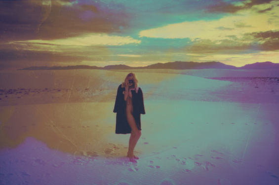 Davis Ayer's Dreamy And Nostalgic Photographs Of Women In Desolate Lands